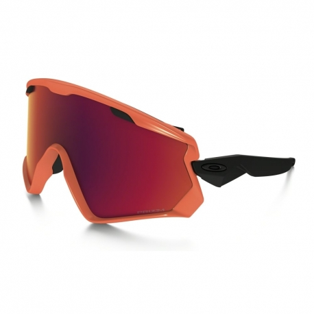 OAKLEY WIND JACKET 2.0 NEOR ORG RED PRIZM SNOW TORCH